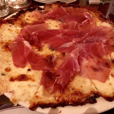 My quattro formaggi GF pizza
